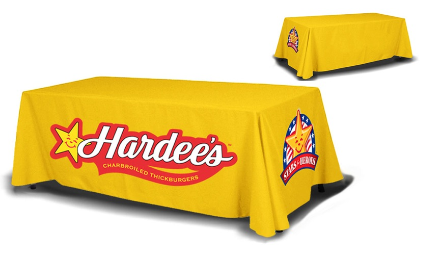 8ft table cover 4 sided
