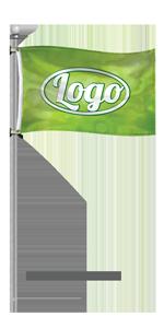 custom pole flag