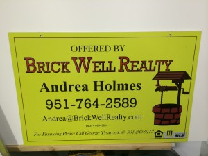 Brick well realty