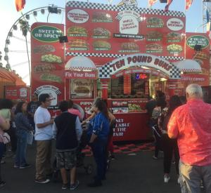Ten Pound Buns 2017LA County Fair 2017 Food Trailer WrapTrailer Wrap
