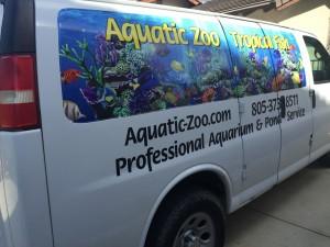 Aquatic Zoo Tropical Fish store passenger side