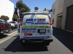 Rain or Shine Rear panels