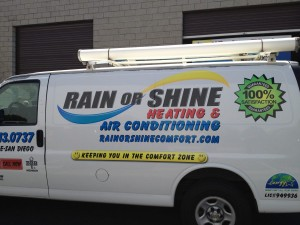 Rain or Shine Drivers side