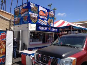 Turkey Shack Del Mar Fair. Food Trucks, Food Trailers vinyl wrapped