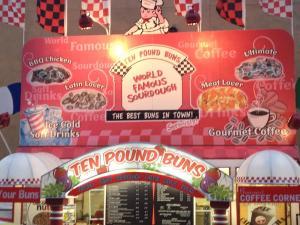 Ten Pound Buns 2013 Del Mar Fair  Food Trucks, Food Trailers vinyl wrapped