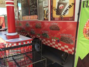 Food Trucks, Food Trailers vinyl wrapped  2013 1st wrap