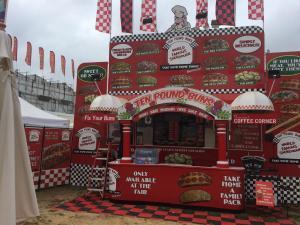 OC Fair 2017 Ten Pound Buns Food Trailer Wrap.