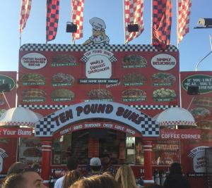 LA County Fair 2017 Ten Pound Buns Food Trucks, Food Trailers vinyl wrapped